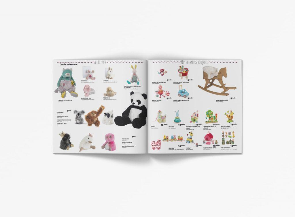 Brochure jouet