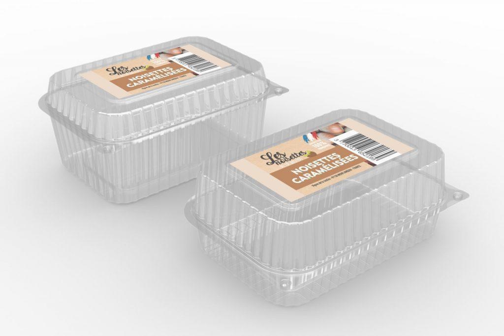 packaging boite plastique