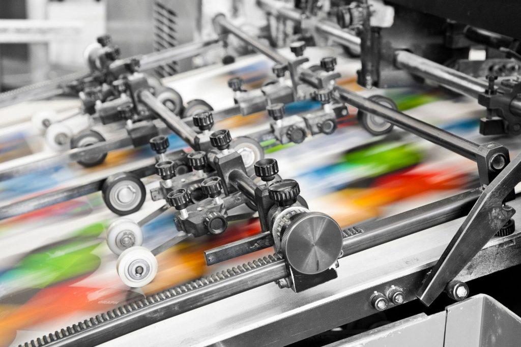imprimerie machine