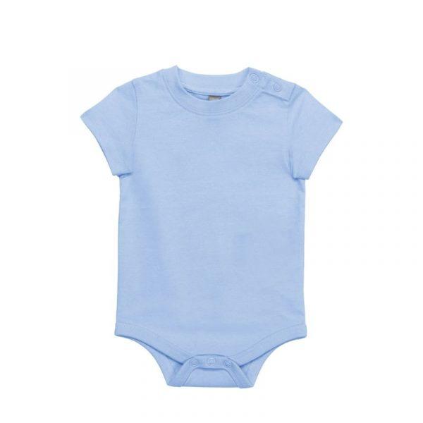 body bébé bleu