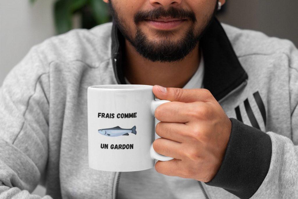 mug frais comme un gardon
