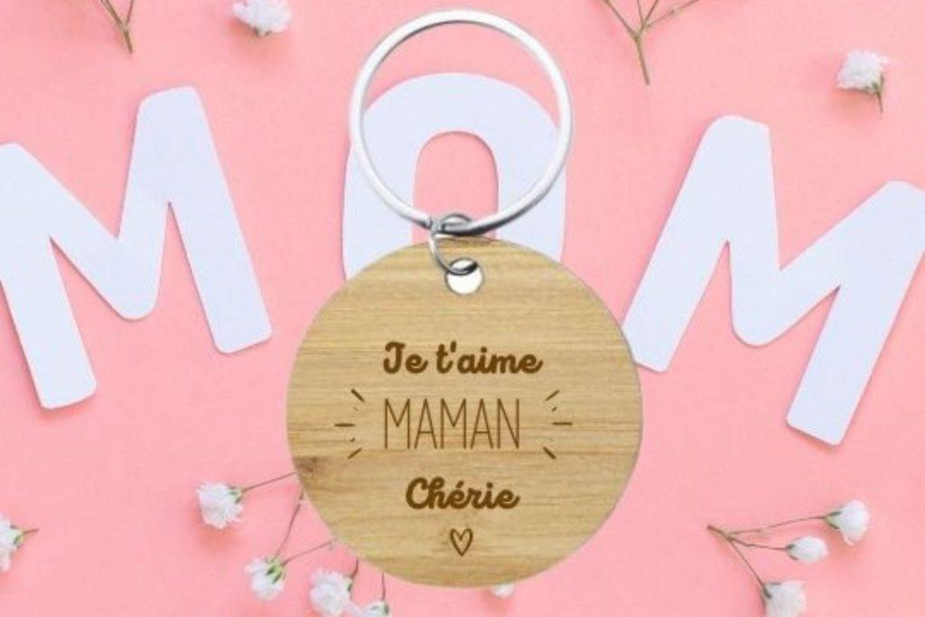porte clés maman je t'aime