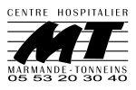 Logo hôpital Marmande